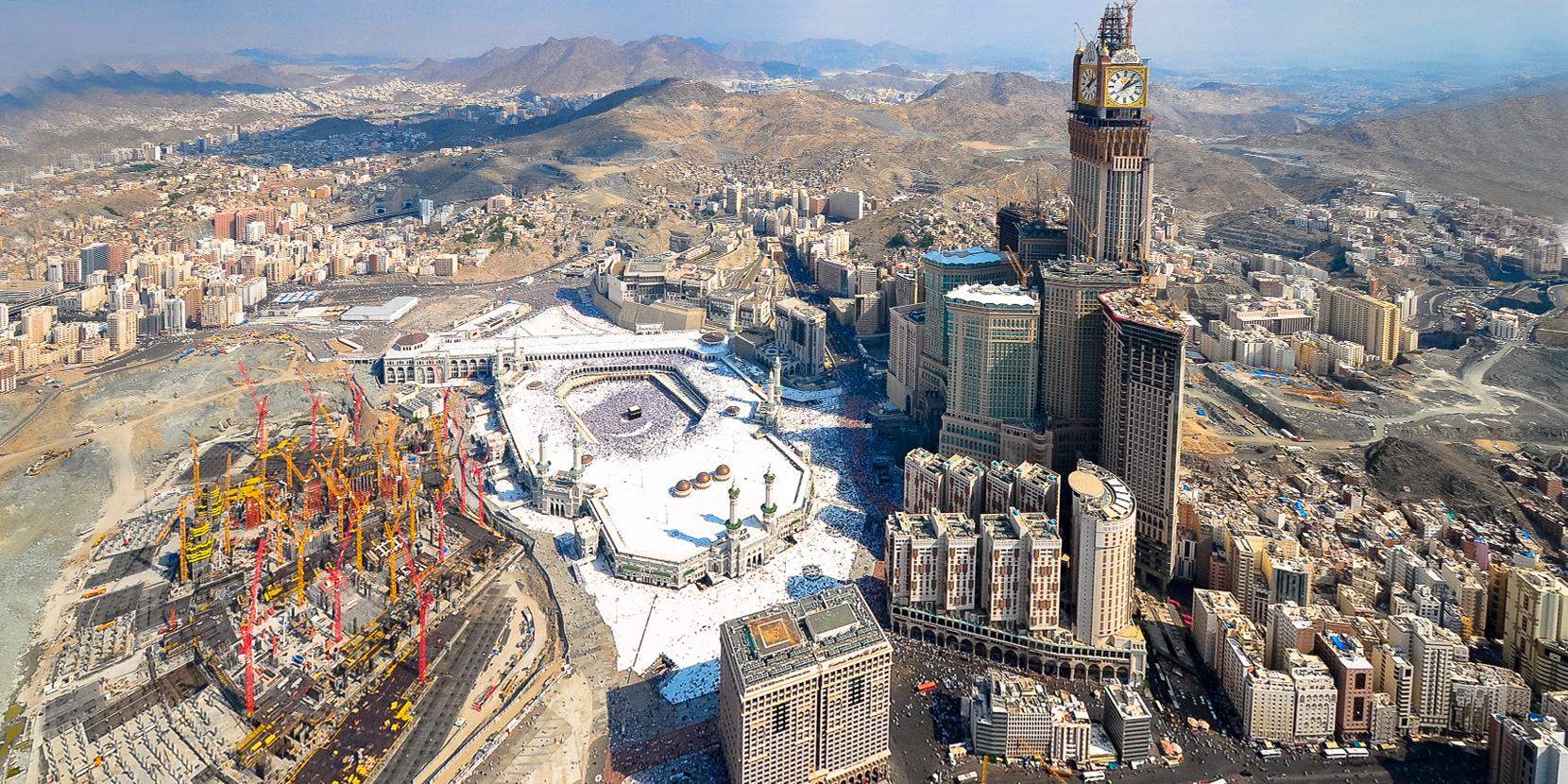 Comment les wahhabites ont transform la mecque en disneyland le desk - Les hotels de la mecque ...
