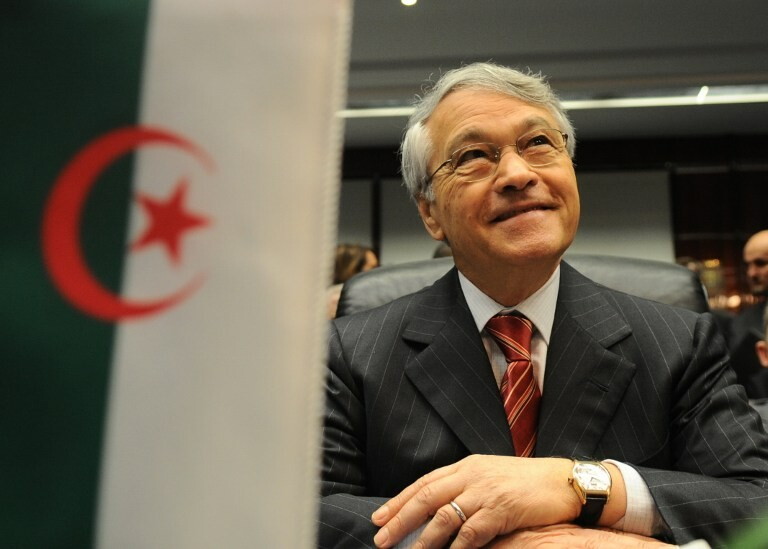 Chakib Khelil, ancien ministre algérien de l'énergie et des mines. SAMUEL KUBANI / AFP