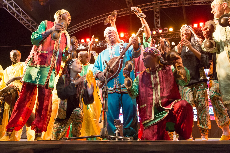 La musique gnaoua inscrite au patrimoine culturel immatériel de l'UNESCO — Maroc
