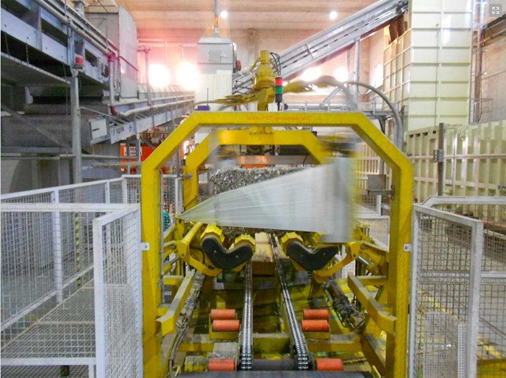 Unité de production de RDF de la société italienne DECO S.p.A, à Chieti dans la région des Abruzzes. DECO
