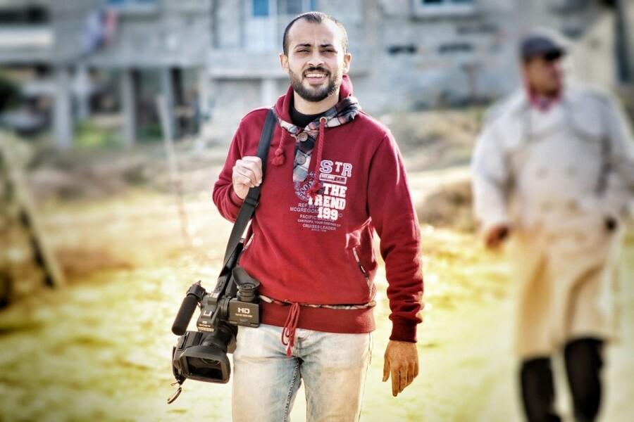 Ahmed Abu Hussein, journaliste palestinien assassiné par Israël