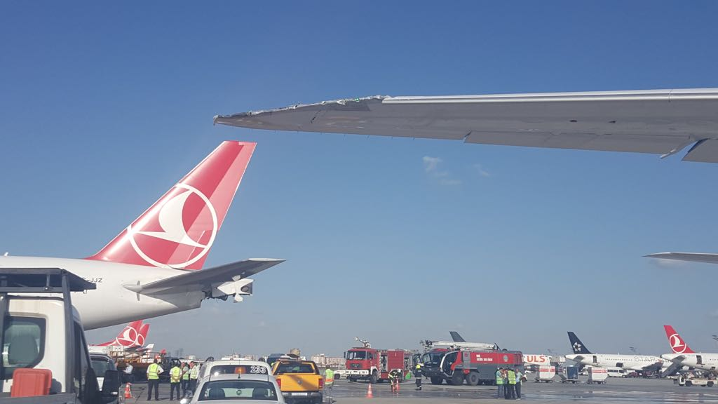 Collision RAM-Turkish Airlines : plus de peur que de mal !